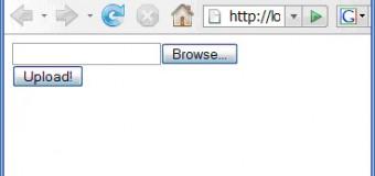 HTML Form Dosya Yüklenmesi
