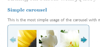 Jcarousel Mouseover Stop