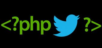PHP ile Twitter Api Kullanımı