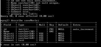 MySQL Tablosuz Tarih Oluşturma